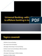 Universal Banking- With Reference to Offshore Banking Ppt