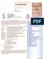 Mechanic of Solids