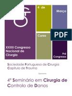 Curso Damage Control - XXXII Congresso Nacional de Cirurgia