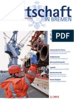 Wirtschaft in Bremen 02/2012 - Hafenbetriebsgesetz