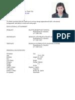 Arlen Resume