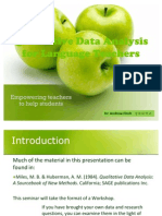 Qual Data Analysis