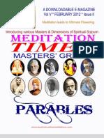 Meditation Times February 2012