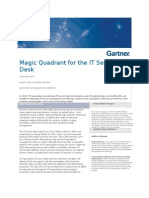 Magic Quadrant for the IT Service Desk