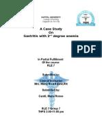Case Pres Gastritis)