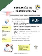 Certificación de Facturación de Planes Médicos