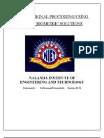 Digital Signal Processing Using Smart Biometric Solutions