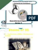 Formação de Pregadores - Ensino nº 05