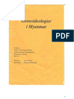Gender ideologies in Myanmar by Anoo Niskanen