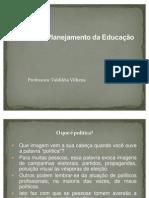 Política  e Planejamento da Educação 2