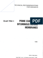 TRH 01 Prime Coats and Bituminous Curing Membranes