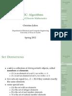 Lecture2 Discrete Math Review Handout