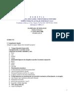 2009 Biologie Etapa Locala Subiecte Clasa a X-A 0