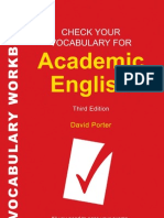Check Your Vocabulary for Academic English 071368285X