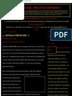 Pistola o Revolver TIRO POLICIAL-REACTIVO-DEFENSIVO ¿…PISTOLA O REVÓLVER__