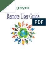 Remote User Guide