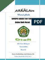 Contoh Hadits Dhaif Mursal 21