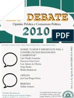 Em Debate Agosto 2010
