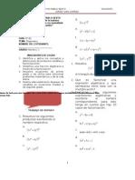 Guia Diagnostic A de Algebra de Noveno