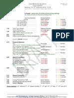 East Midlands Speakers Programme 121 6th February 2012