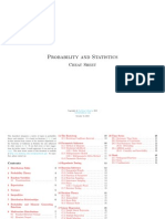 Probability and Statistics Cheat Sheet by Matthias Vallentin