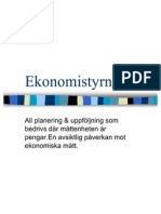 Ekonomistyrning
