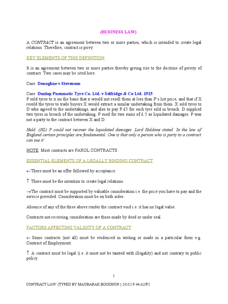 Contract law offer and acceptance consideration stopboris Images