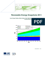 Renewable Energy Snapshots 2011