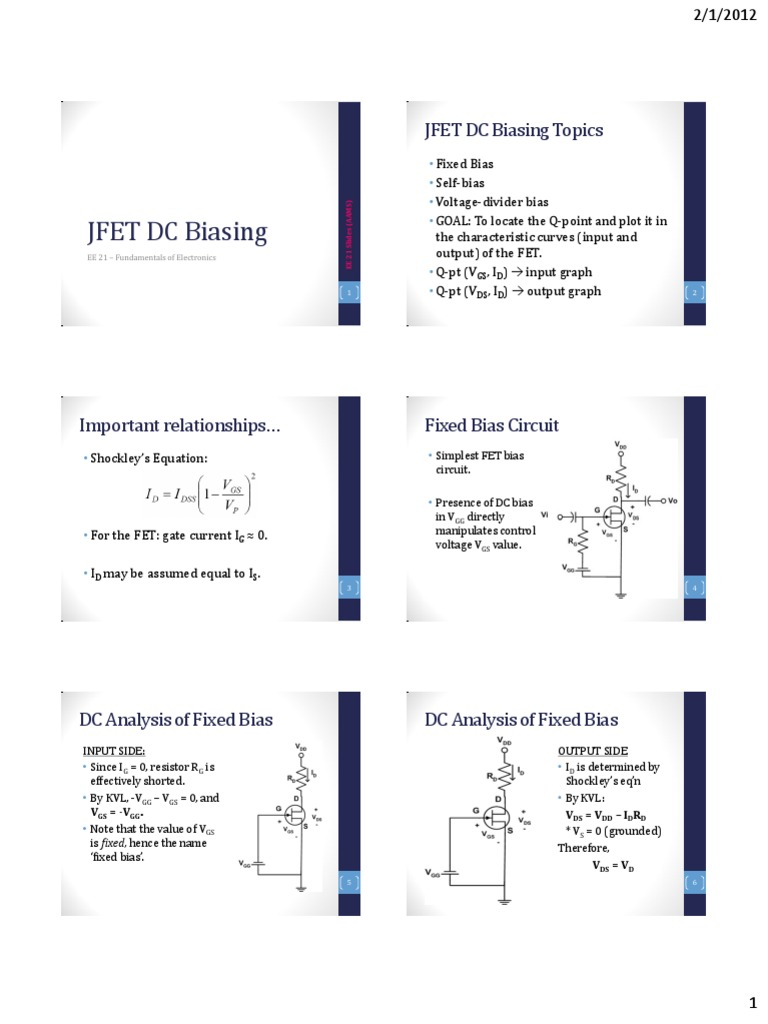Analysis Of Bjt With Fixed Bias And Voltage Divider Using Spice Circuit Lecture 24 Fet Dc Biasing Combination Networks Field Effect Transistor Electrical Engineering