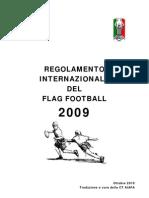 IFAF Flag Rulebook 2009 ITA