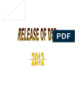 DSR 2012