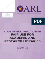 Code of Best Practices Arl