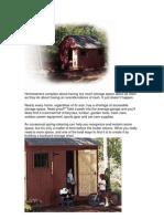 Popular Mechanics Colonial Style Backyard Barn