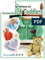 14 Free Crochet Patterns for Babies and Toddlers