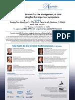 Total Health Seminar E-Mailer