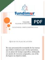PLAN DE ACCIÓN COMUNITARIO PREVENTORES COMUNITARIOS