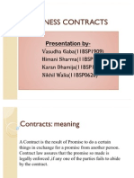 FinlTypes of Contracts