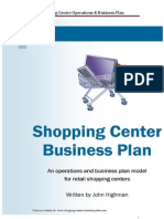 Shopping Centre Business Plan Sample