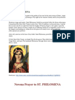 Prayer to St.philomena