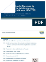 ISO 27001 Presentation Spanish