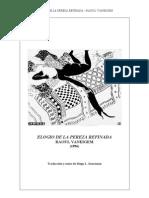 Elogio de La Pereza Refinada - Raoul Vaneigem