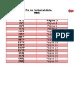 Perfil de Personalidade - MBTI