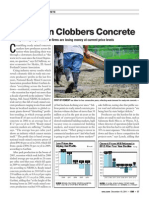 Global Concrete Markets Crumble, by Tom Nicholson, Engineering News-Record, 2011