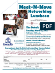 March 2012 Meet-n-Move Networking Luncheon @ Concordia