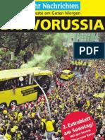 Ruhr Nachrichten Sonderdruck BVB Deutscher Meister 2011
