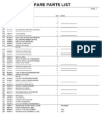 Makita 9015B Parts List