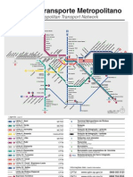mapa do metrô de sp