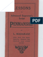 Madarasz - Lessons in Advanced Engravers Script