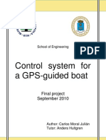 Control System for a GPS-Guided Boat