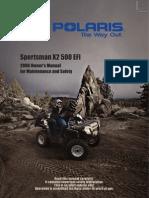 2006 Sportsman X2 - 2006 Owners Manual